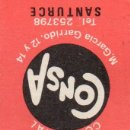 Cajas de Cerillas: CAJA DE CERILLAS ICONOS DE FAMOSOS PRODUCTOS ANUNCIADOS AÑOS 50/60 IBERIA RADIO Y TV. Lote 160589950