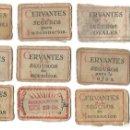 Cajas de Cerillas: ANTIGUA CAJA CERILLAS CERVANTES COMPAÑIA ESPAÑOLA DE SEGUROS MONOPOLIO CERILLAS Y FOSFOROS CIª . Lote 160620674