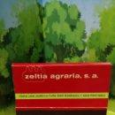 Cajas de Cerillas: CARTERITA DE CERILLAS ZELTIA AGRARIA. Lote 161308010