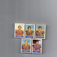 Cajas de Cerillas: CAJAS DE CERILLAS DE LOS FUTBOLISTAS DEL F.C. BARCELONA/BARÇA. Lote 170909358