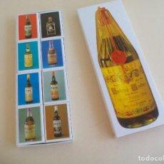 Cajas de Cerillas: ESTUCHE DE 8 CAJAS DE CERILLAS - SANCHEZ ROMATE HNOS. - JEREZ. MATCHBOX. FOSFOROS.. Lote 162721066