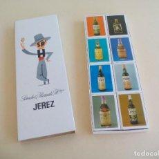 Cajas de Cerillas: ESTUCHE DE 8 CAJAS DE CERILLAS - SANCHEZ ROMATE HNOS. - JEREZ. MATCHBOX. FOSFOROS.. Lote 162721986