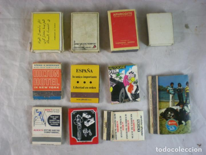 Cajas de Cerillas: Lote Caja Cerillas x11 - Foto 2 - 163383442
