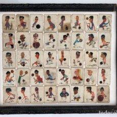 Cajas de Cerillas: 40 FOTOTIPIAS CAJAS CERILLAS CRONOS. Lote 163477740