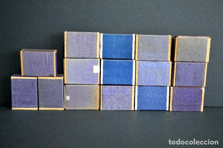 Cajas de Cerillas: LOTE 15 ANTIGUAS CAJAS DE CERILLAS BRASIL COMPLETAS - Foto 4 - 163606846