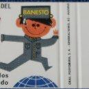 Cajas de Cerillas: BANCO ESPAÑOL DE CREDITO - BANESTO - ¡CAJA DE CERILLAS PLANCHA!. Lote 165429598