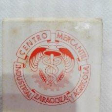 Cajas de Cerillas: CARTERITA CERILLAS CENTRO MERCANTIL INDUSTRIAL Y AGRICOLA ZARAGOZA. Lote 165859534