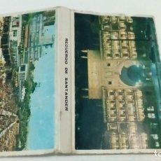 Cajas de Cerillas: CARTERITA CERILLAS RECUERDO DE SANTANDER. Lote 165906950