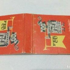 Cajas de Cerillas: CARTERITA CERILLAS ELECTRONICA FERCU MADRID. Lote 165907046