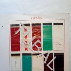Cajas de Cerillas: TUBAL CARTERITA CERILLAS FIGUERAS HOTELES Y BODAS LOTAZO CAJA. Lote 166801058