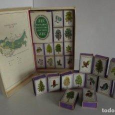 Cajas de Cerillas: COLECCIÓN DE 25 CAJAS DE CERILLAS DE MADERA RUSAS. Lote 166868880