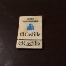 Cajas de Cerillas: CERILLAS LECHE CONDENSADA EL CASTILLO . Lote 167486552