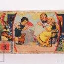 Cajas de Cerillas: ANTIGUA CAJITA CERILLAS LITOGRAFIADA - G DE MEDICI, Nº 19 - FABRICHE RIUNITE DI FIAMMIFERI, MILANO. Lote 168039340