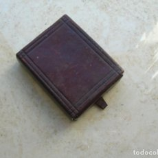 Cajas de Cerillas: ANTIGUA CAJA DE CERILLAS DE CUERO. JOSÉ CALVO. UBRIQUE ( CÁDIZ ).. Lote 168619084