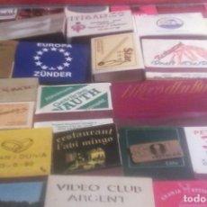 Cajas de Cerillas: 70 CAJAS DE CERILLAS .. Lote 169515904