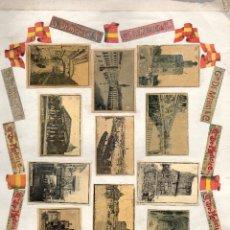 Cajas de Cerillas: PANELES FRONTALES CAJAS DE CERILLAS ORIGINALES SIGLO XIX. Lote 169584664