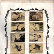 Cajas de Cerillas: PANELES FRONTALES CAJAS DE CERILLAS ORIGINALES SIGLO XIX. Lote 169584776