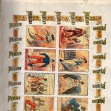 Cajas de Cerillas: PANELES FRONTALES CAJAS DE CERILLAS ORIGINALES SIGLO XIX. Lote 170051464