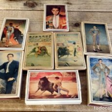 Cajas de Cerillas: ANTIGUAS CAJAS DE CERILLAS GIGANTES *TOREROS EN LA PINTURA* DE FOSFORERA ESPAÑOLA,8 CAJAS LLENAS. Lote 170061944