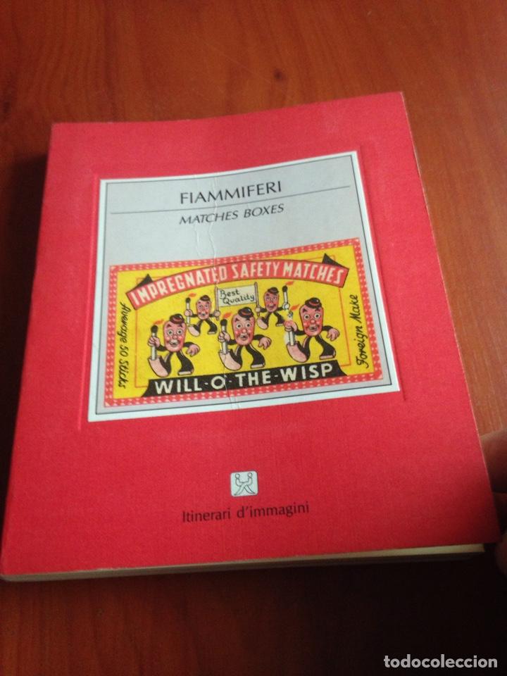 LIBRO CAJAS DE CERILLAS (Coleccionismo - Objetos para Fumar - Cajas de Cerillas)