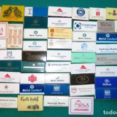 Cajas de Cerillas: MÁS DE 120 CAJAS DE CERILLAS DE HOTELES. Lote 170973849