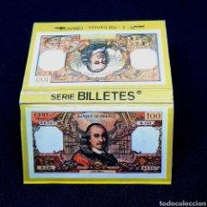 Cajas de Cerillas: (BAC1) CAJA CERILLAS PUBLICITARIA - SERIE BILLETES. N°2. 100 FRANCOS (FRANCIA). Lote 171746140