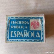 Boîtes d'Allumettes: ANTIGUA CAJA DE CERILLAS - FÓSFOROS C.A.F. - S.A. - HACIENDA PÚBLICA ESPAÑOLA. Lote 174014424