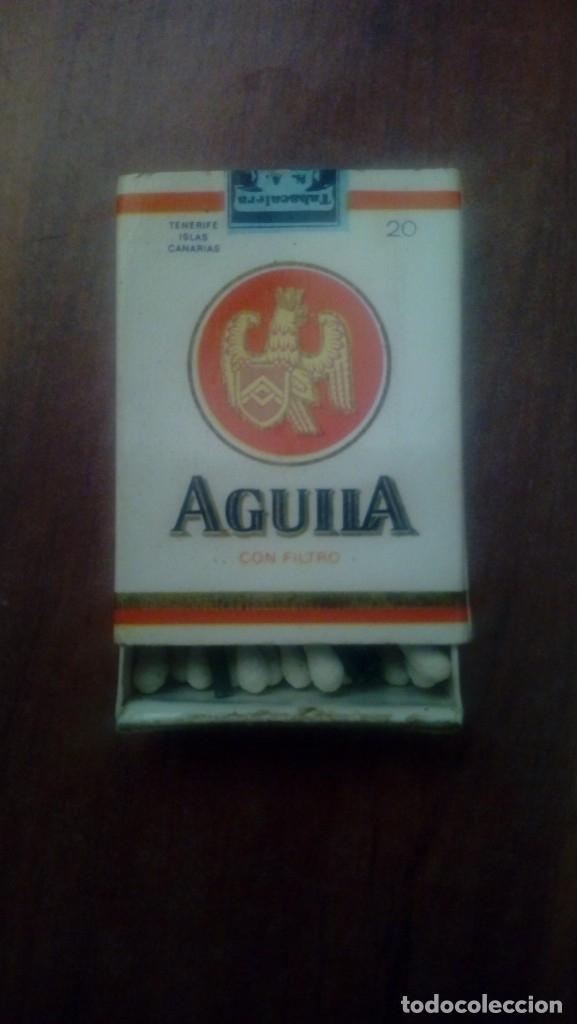 CAJA CERILLAS TABACO AGUILA TENERIFE ISLAS CANARIAS (Coleccionismo - Objetos para Fumar - Cajas de Cerillas)