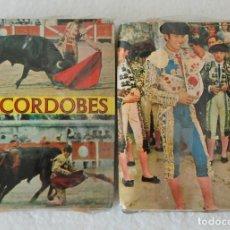 Cajas de Cerillas: LOTE 2 ESTUCHES 4 CAJA DE CERILLAS DEL TORERO EL CORDOBES - SIN DESPRECINTAR. Lote 174340463
