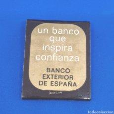 Cajas de Cerillas: (CAZ1) CAJA CERILLAS PUBLICITARIA - BANCO EXTERIOR DE ESPAÑA. Lote 174478837