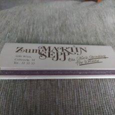 Cajas de Cerillas: CAJA DE CERILLAS TIPO CARTERITA ALEMANA, TAMAÑO GRANDE(COMO 3 CAJITAS)ZUMMARTINSEPP. Lote 174506002