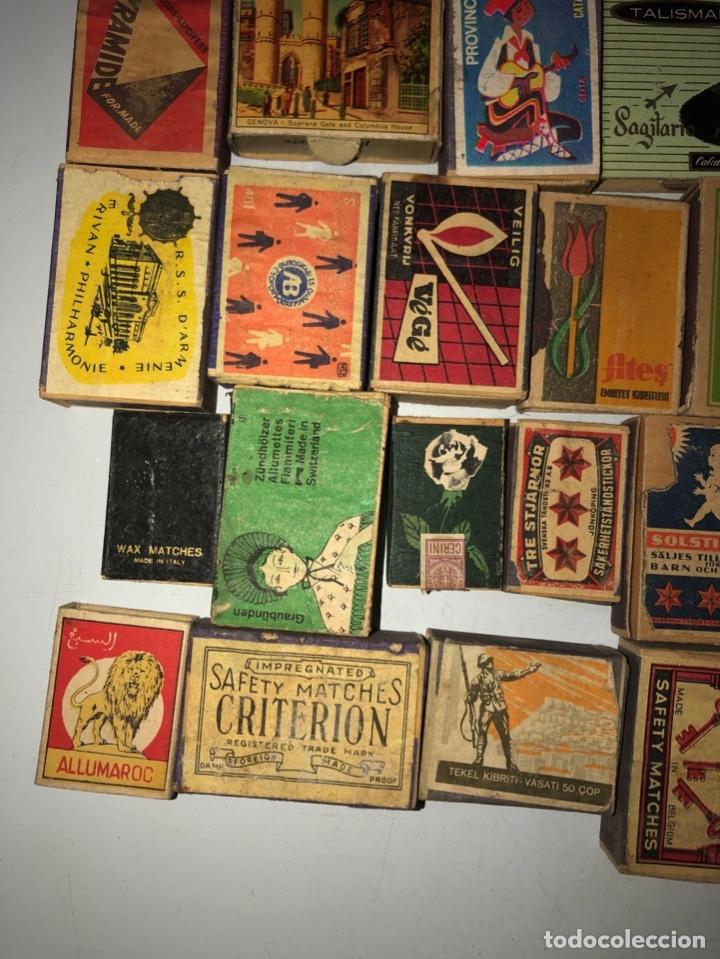 Cajas de Cerillas: LOTE 50 CAJAS DE CERILLAS. AÑOS 60-70. 70% LLENOS, 30% VACIOS APROXIMADAMENTE. - Foto 4 - 175017898