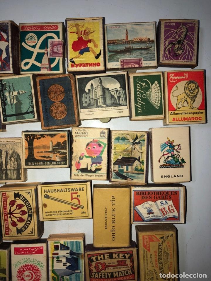 Cajas de Cerillas: LOTE 50 CAJAS DE CERILLAS. AÑOS 60-70. 70% LLENOS, 30% VACIOS APROXIMADAMENTE. - Foto 5 - 175017898