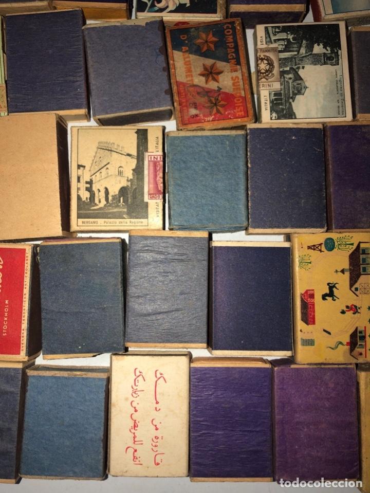 Cajas de Cerillas: LOTE 50 CAJAS DE CERILLAS. AÑOS 60-70. 70% LLENOS, 30% VACIOS APROXIMADAMENTE. - Foto 13 - 175017898