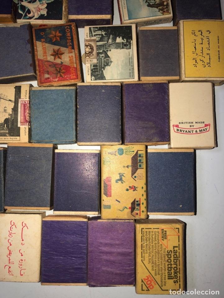 Cajas de Cerillas: LOTE 50 CAJAS DE CERILLAS. AÑOS 60-70. 70% LLENOS, 30% VACIOS APROXIMADAMENTE. - Foto 14 - 175017898