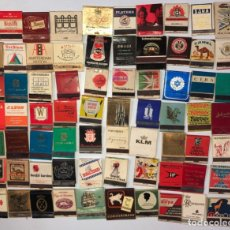 Cajas de Cerillas: LOTE 70 CAJAS DE CERILLAS. PUBLICITARIA AÑOS 60-70. LLENAS TODAS.. Lote 175019908