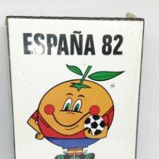 Cajas de Cerillas: ESPAÑA 82 NARANJITO CERILLAS *** NUEVO PRECINTADO. Lote 162645978