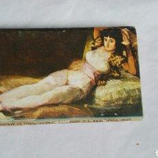 Cajas de Cerillas: CAJA DE CERILLAS CON CUADRO DE GOYA. Lote 176075078