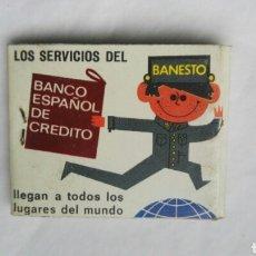 Cajas de Cerillas: CAJA DE CERILLAS BANESTO ANTIGUA. Lote 176075864