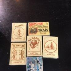 Cajas de Cerillas: CAJAS DE CERILLAS. Lote 176266129