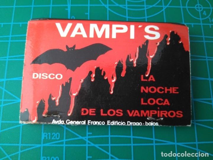 Discoteca Vampi S Pizzeria Zebra Maria Puerto Buy Old Matchboxes At Todocoleccion 176445722