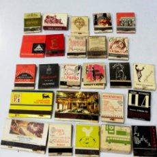 Cajas de Cerillas: LOTE 50 CAJAS DE CERILLAS. PUBLICITARIA AÑOS 60-70. LLENAS TODAS. VER FOTOS.. Lote 176899708