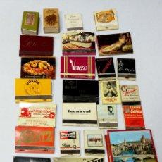 Cajas de Cerillas: LOTE 50 CAJAS DE CERILLAS. PUBLICITARIA AÑOS 60-70. LLENAS TODAS. VER FOTOS.. Lote 176901623