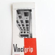 Cajas de Cerillas: CARTERITA CERILLAS - VINCIGRIP ( BARCELONA ). PERFECTA!!. Lote 144264206