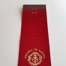 Cajas de Cerillas: CARTERITA CERILLAS - ESCUELA GUERRA NAVAL. Lote 138268598