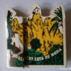 Cajas de Cerillas: CAJA DE CERILLAS GUADALEST ESTA DE MODA NUEVA. Lote 177049028
