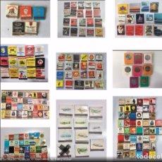 Cajas de Cerillas: 745 CAJAS DE CERILLAS, TIPO CARTERA, DE LOS AÑOS 60/70. VER FOTOS.. Lote 177480664