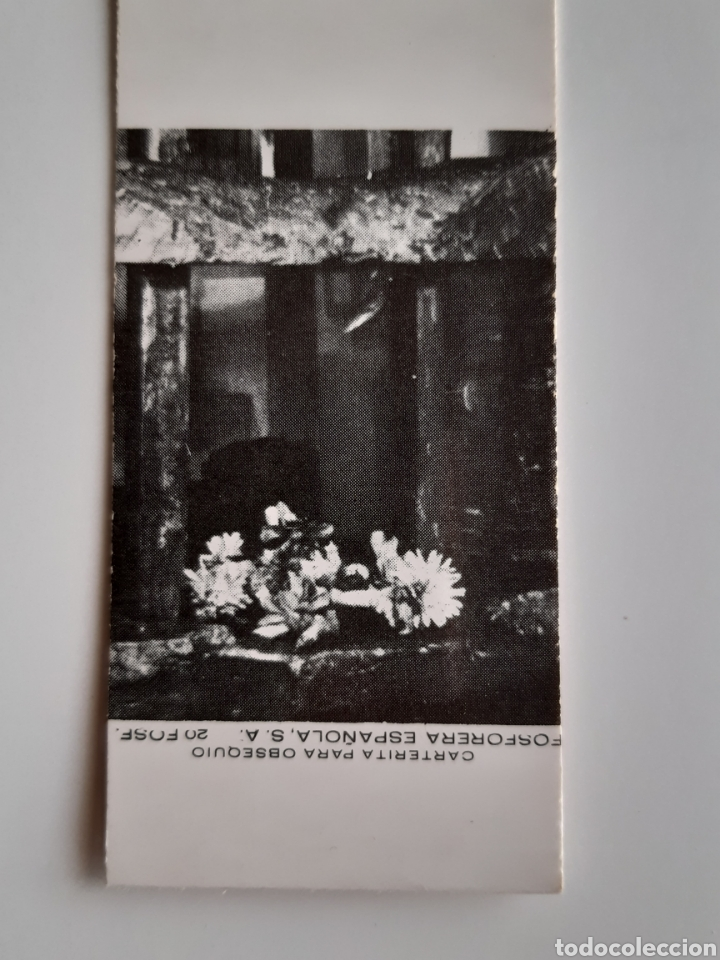 Cajas de Cerillas: CARTERITA CERILLAS - REHALA. PERFECTA!! - Foto 2 - 153861478