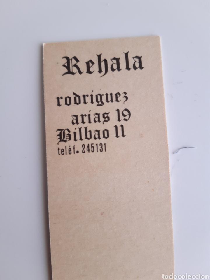 Cajas de Cerillas: CARTERITA CERILLAS - REHALA. PERFECTA!! - Foto 3 - 153861478