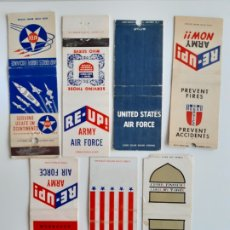 Cajas de Cerillas: LOTE CARTERITAS CERILLAS ARMY & AIR FORCE - EUROPEAN EXCHANGE SYSTEM - NEW YORK. Lote 140649086
